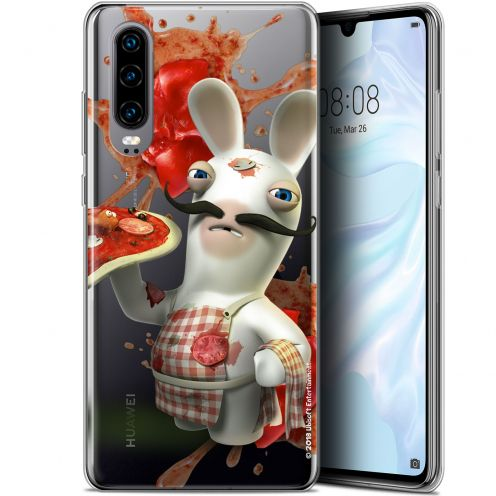 "Coque Gel Huawei P30 (6.1"") Extra Fine Lapins Crétins™ - Cuisinier"