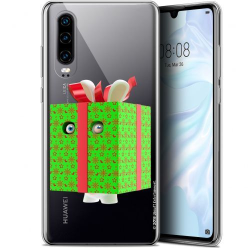 "Coque Gel Huawei P30 (6.1"") Extra Fine Lapins Crétins™ - Lapin Surprise Vert"