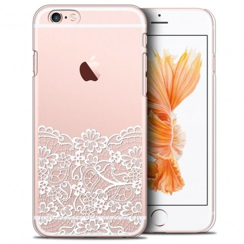Coque Crystal iPhone 6/6s Plus (5.5) Extra Fine Spring - Bas dentelle