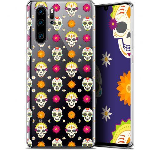 """Coque Gel Huawei P30 Pro (6.47"""") Extra Fine Halloween - Skull Halloween"""