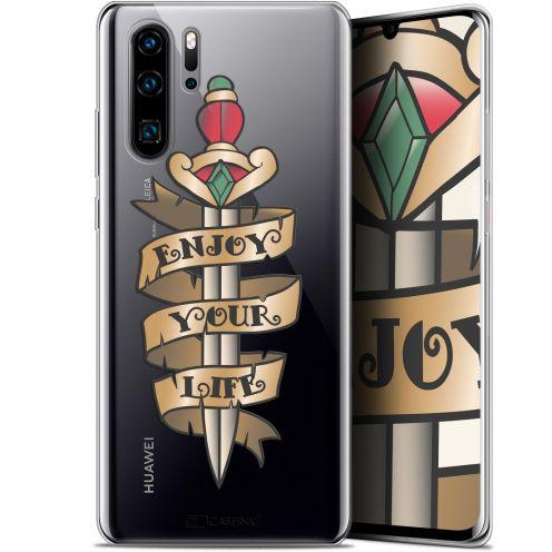 "Coque Gel Huawei P30 Pro (6.47"") Extra Fine Tatoo Lover - Enjoy Life"