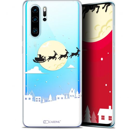 "Coque Gel Huawei P30 Pro (6.47"") Extra Fine Noël 2017 - Flying Stanta"