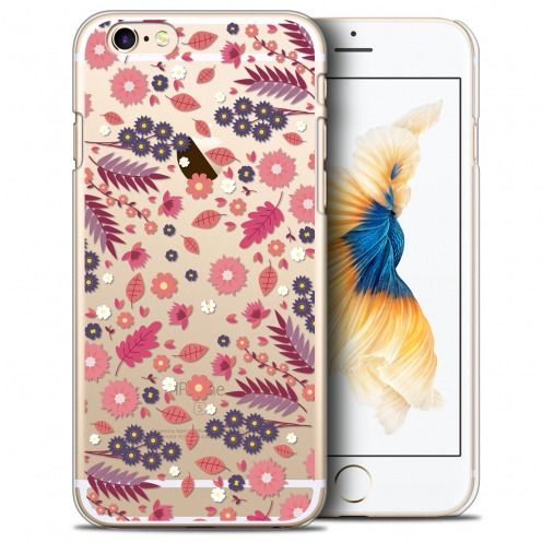 Coque Crystal iPhone 6/6s Plus (5.5) Extra Fine Spring - Floraison