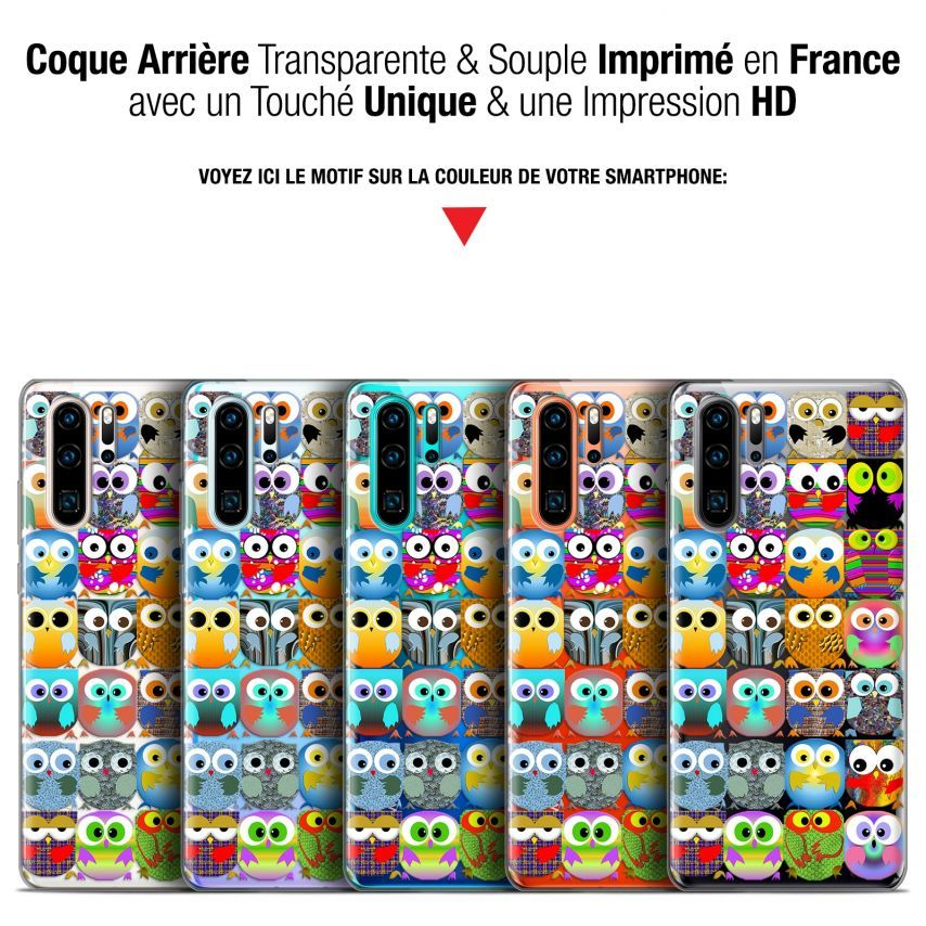 "Coque Gel Huawei P30 Pro (6.47"") Extra Fine Claude - Hibous"