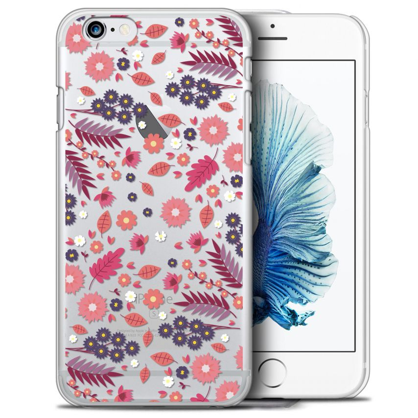 Coque Crystal iPhone 6/6s Plus (5.5) Extra Fine Spring - Floraison