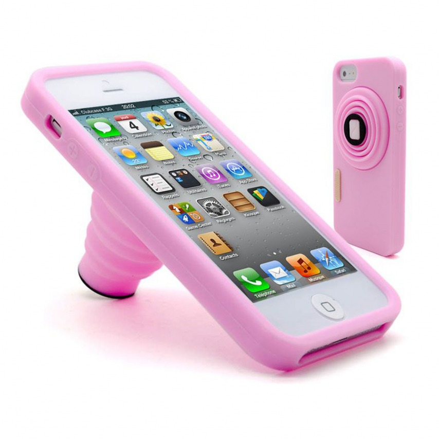 coque rose iphone 5