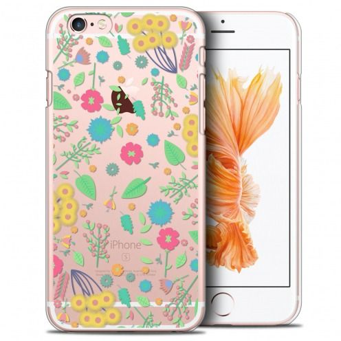 Coque Crystal iPhone 6/6s Plus (5.5) Extra Fine Spring - Flowers