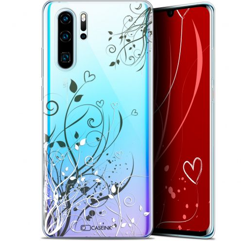 "Coque Gel Huawei P30 Pro (6.47"") Extra Fine Love - Hearts Flowers"