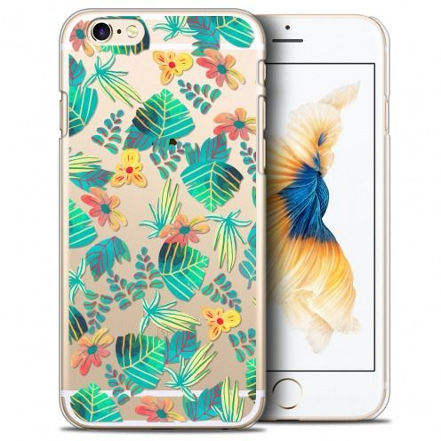 Coque Crystal iPhone 6/6s (4.7) Extra Fine Spring - Tropical