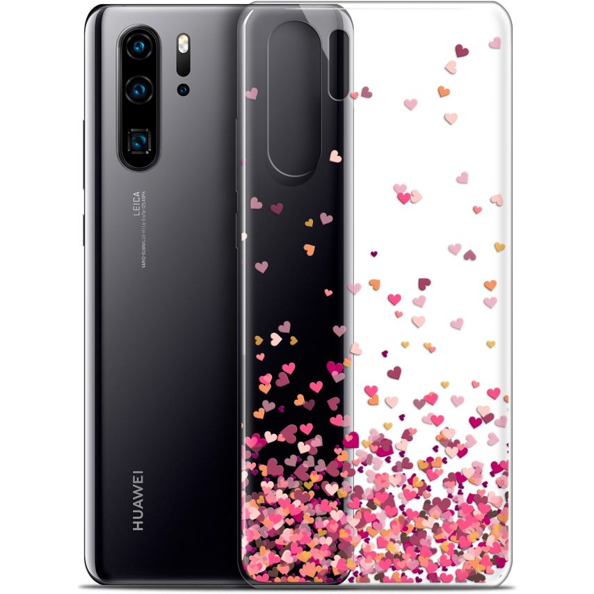 "Coque Gel Huawei P30 Pro (6.47"") Extra Fine Sweetie - Heart Flakes"