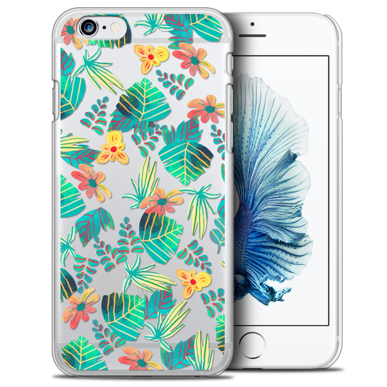 coque crystal iphone 6 6s 47 extra fine spring tropical