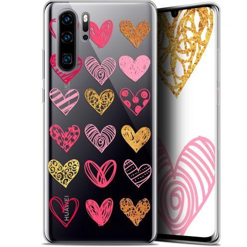 "Coque Gel Huawei P30 Pro (6.47"") Extra Fine Sweetie - Doodling Hearts"
