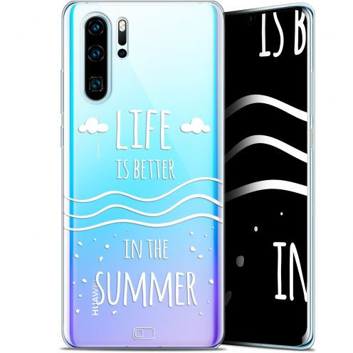 """Coque Gel Huawei P30 Pro (6.47"""") Extra Fine Summer - Life's Better"""