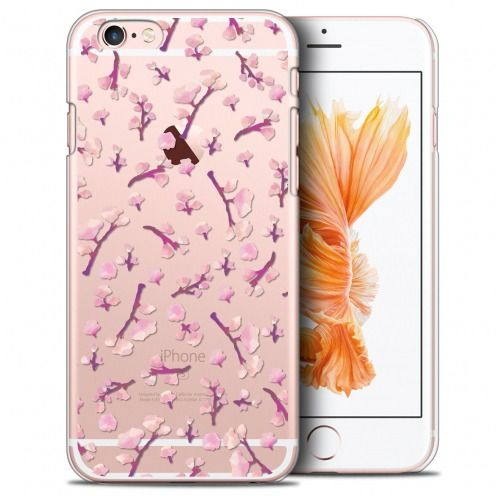 Coque Crystal iPhone 6/6s (4.7) Extra Fine Spring - Cherry Blossom