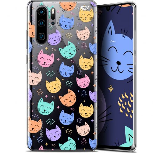 """Coque Gel Huawei P30 Pro (6.47"""") Extra Fine Motif - Chat Dormant"""