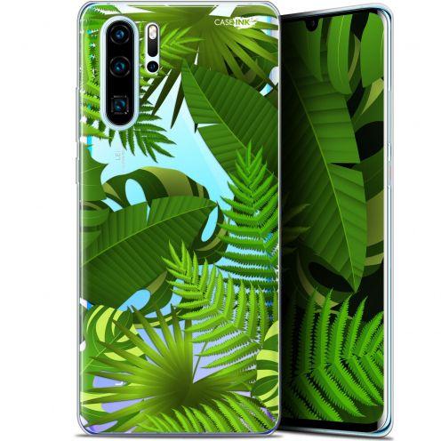 """Coque Gel Huawei P30 Pro (6.47"""") Extra Fine Motif - Plantes des Tropiques"""