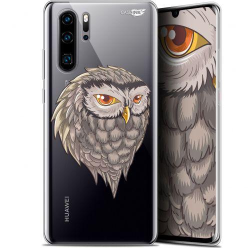 """Coque Gel Huawei P30 Pro (6.47"""") Extra Fine Motif - Hibou Draw"""