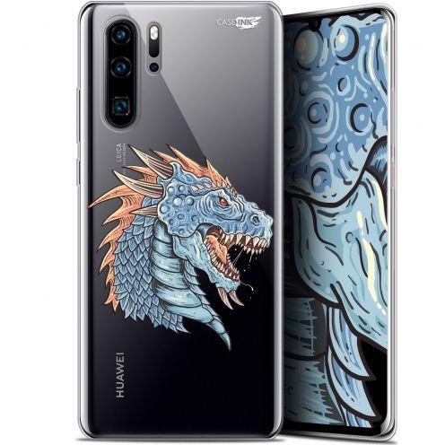 "Coque Gel Huawei P30 Pro (6.47"") Extra Fine Motif -  Dragon Draw"