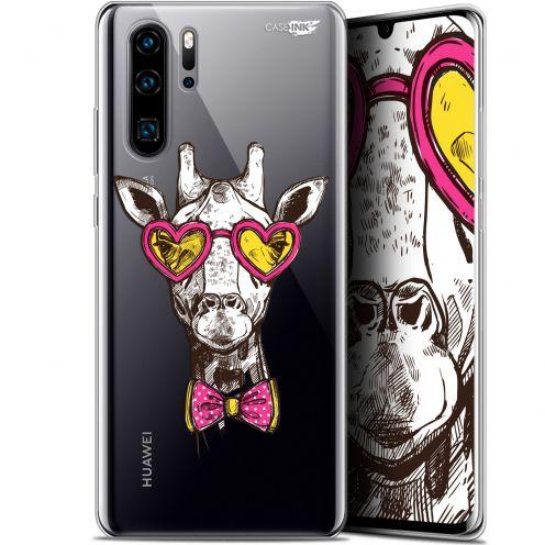 "Coque Gel Huawei P30 Pro (6.47"") Extra Fine Motif - Hipster Giraffe"