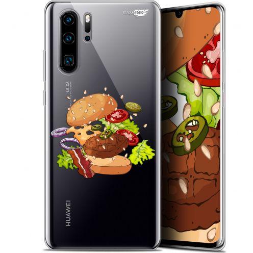 "Coque Gel Huawei P30 Pro (6.47"") Extra Fine Motif -  Splash Burger"