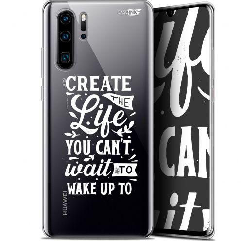 """Coque Gel Huawei P30 Pro (6.47"""") Extra Fine Motif -  Wake Up Your Life"""