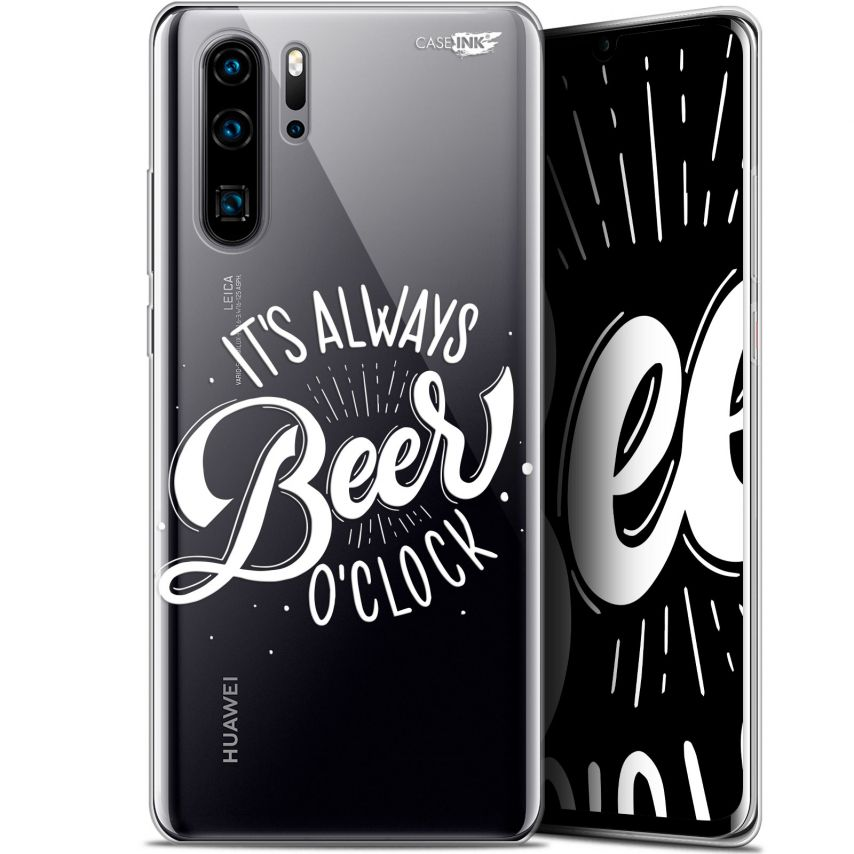 "Coque Gel Huawei P30 Pro (6.47"") Extra Fine Motif - Its Beer O'Clock"