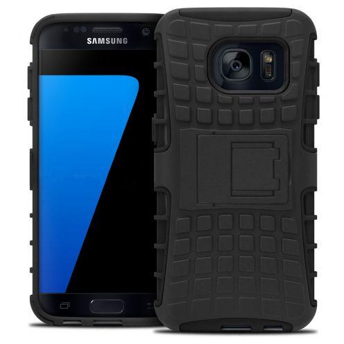 """Coque Antichoc Stand """"Spider"""" Clubcase® Samsung Galaxy S7 Noir"""