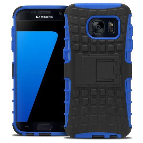 """Coque Antichoc Stand """"Spider"""" Clubcase® Samsung Galaxy S7 Bleu"""