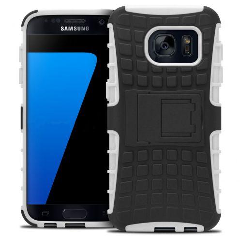 """Coque Antichoc Stand """"Spider"""" Clubcase® Samsung Galaxy S7 Blanc"""