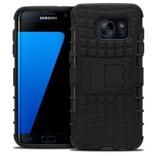 """Coque Antichoc Stand """"Spider"""" Clubcase® Samsung Galaxy S7 Edge Noir"""