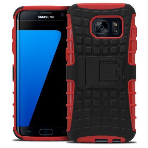 """Coque Antichoc Stand """"Spider"""" Clubcase® Samsung Galaxy S7 Edge Rouge"""