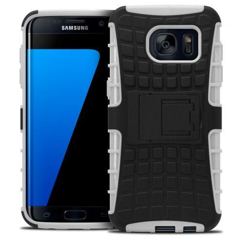 """Coque Antichoc Stand """"Spider"""" Clubcase® Samsung Galaxy S7 Edge Blanc"""