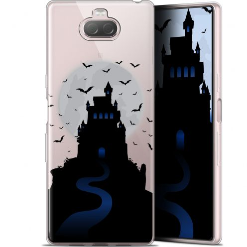 "Coque Gel Sony Xperia 10 (6"") Extra Fine Halloween - Castle Nightmare"