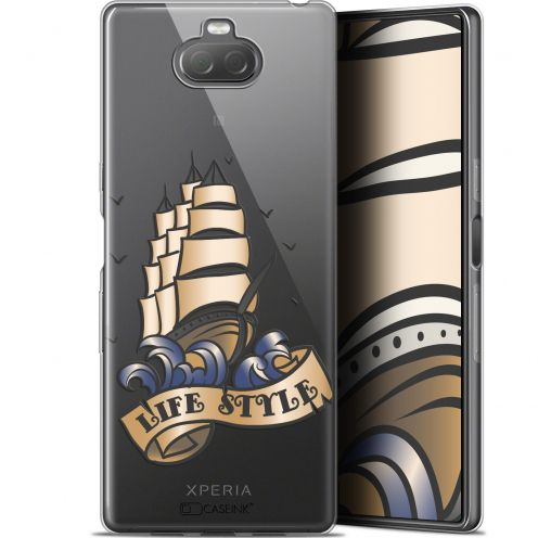 "Coque Gel Sony Xperia 10 (6"") Extra Fine Tatoo Lover - Fashion"