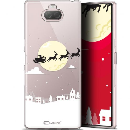 "Coque Gel Sony Xperia 10 (6"") Extra Fine Noël 2017 - Flying Stanta"
