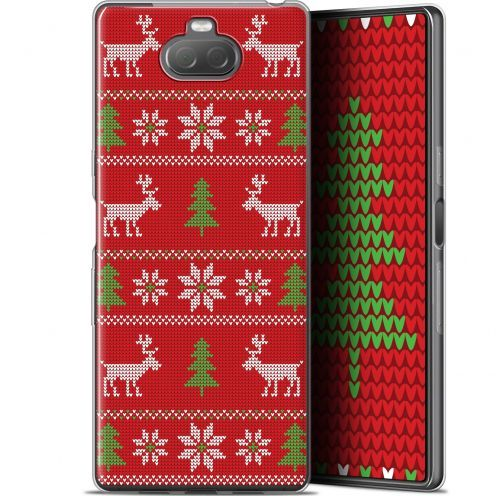 "Coque Gel Sony Xperia 10 (6"") Extra Fine Noël 2017 - Couture Rouge"