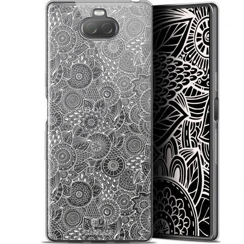 """Coque Gel Sony Xperia 10 (6"""") Extra Fine Dentelle Florale - Blanc"""