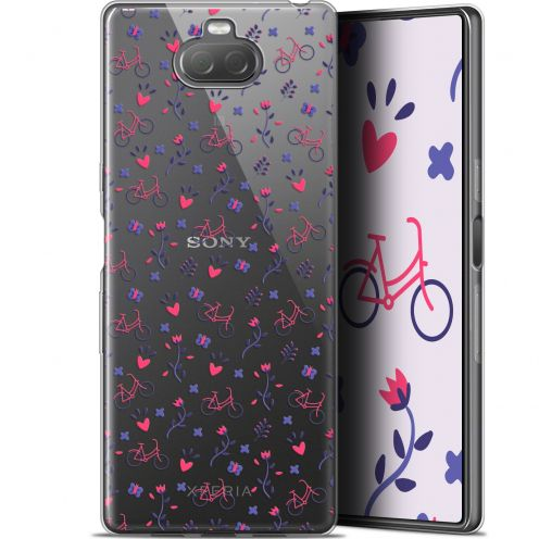 "Coque Gel Sony Xperia 10 (6"") Extra Fine Love - Bicycle"