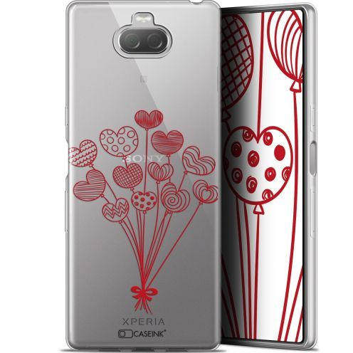 "Coque Gel Sony Xperia 10 (6"") Extra Fine Love - Ballons d'amour"