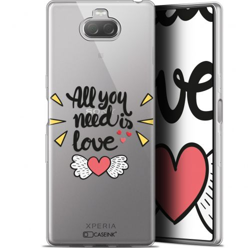 "Coque Gel Sony Xperia 10 (6"") Extra Fine Love - All U Need Is"