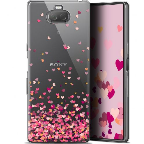 "Coque Gel Sony Xperia 10 (6"") Extra Fine Sweetie - Heart Flakes"