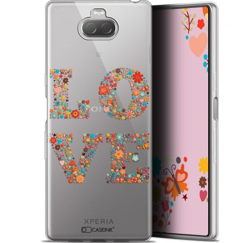 """Coque Gel Sony Xperia 10 (6"""") Extra Fine Summer - Love Flowers"""