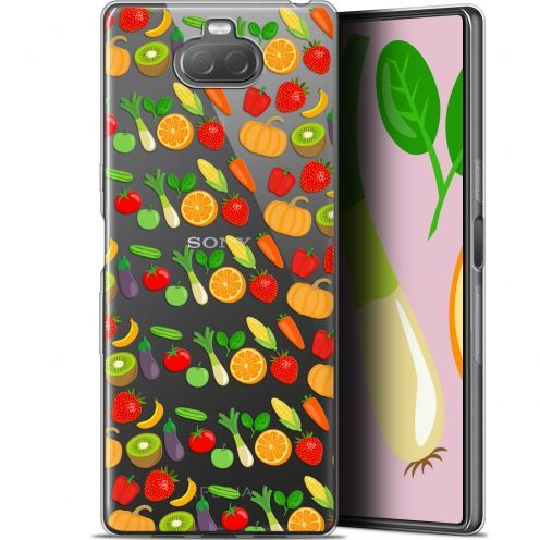 "Coque Gel Sony Xperia 10 (6"") Extra Fine Foodie - Healthy"