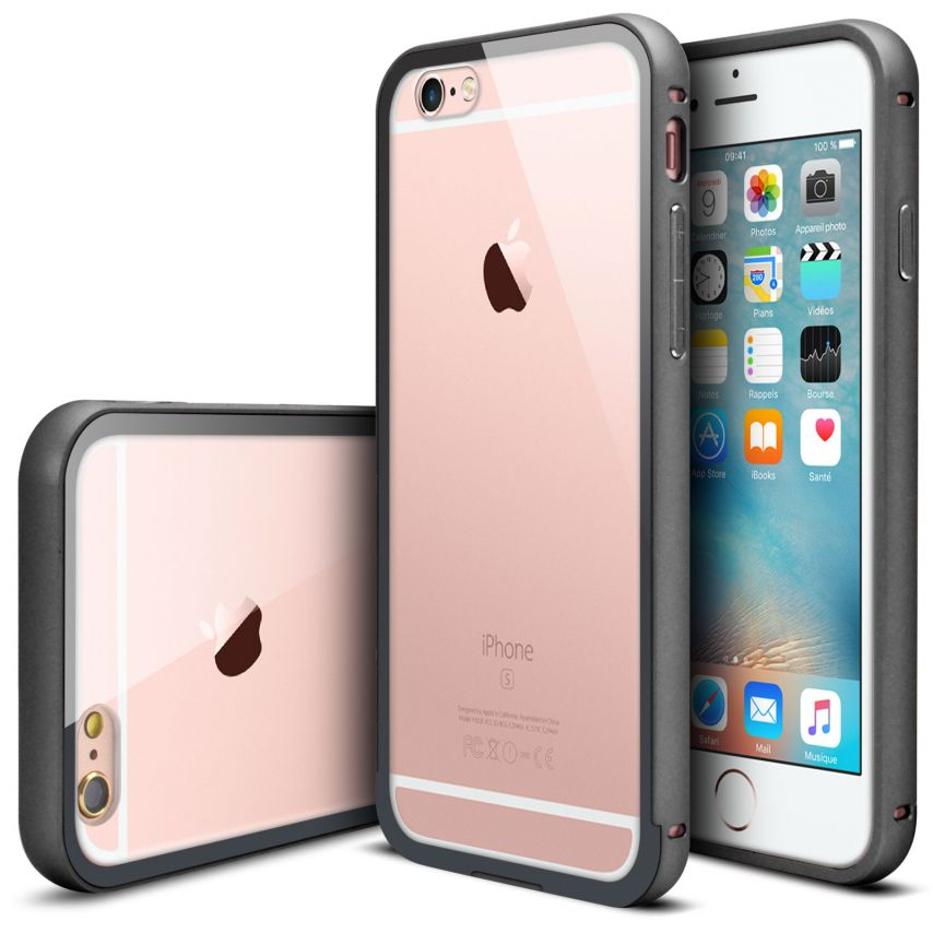 Bumper Apple iPhone 6s/6 Glass Aluminium Noir