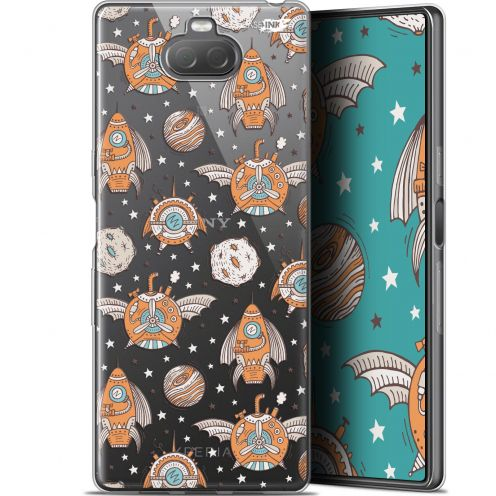 "Coque Gel Sony Xperia 10 (6"") Extra Fine Motif - Punk Space"
