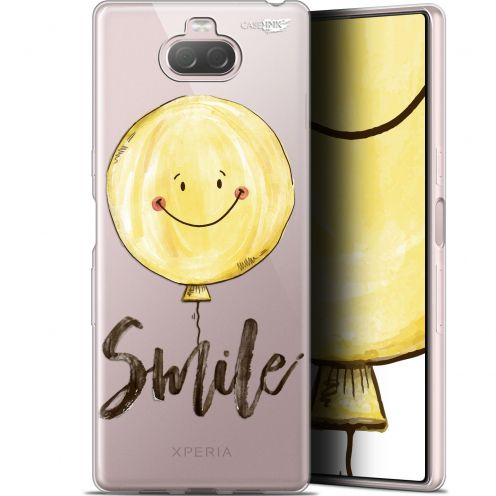 "Coque Gel Sony Xperia 10 (6"") Extra Fine Motif - Smile Baloon"