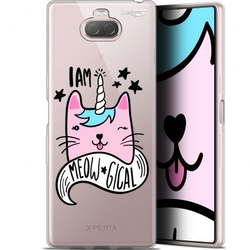 "Coque Gel Sony Xperia 10 (6"") Extra Fine Motif - I Am MEOUgical"