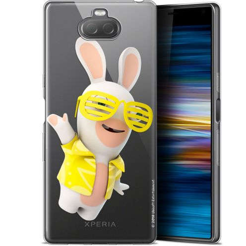 """Coque Gel Sony Xperia 10 (6"""") Extra Fine Lapins Crétins™ - Sun Glassss!"""