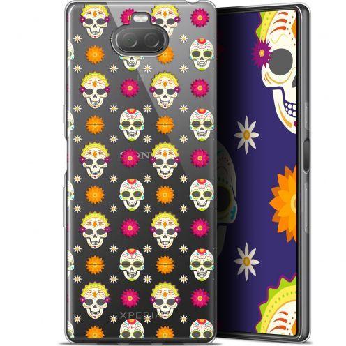 "Coque Gel Sony Xperia 10 Plus (6.5"") Extra Fine Halloween - Skull Halloween"
