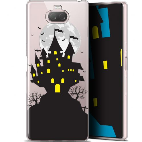 "Coque Gel Sony Xperia 10 Plus (6.5"") Extra Fine Halloween - Castle Scream"